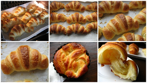 Home Cooking In Montana: Homemade Croissants... ATK/Cook' s Illustrated version.