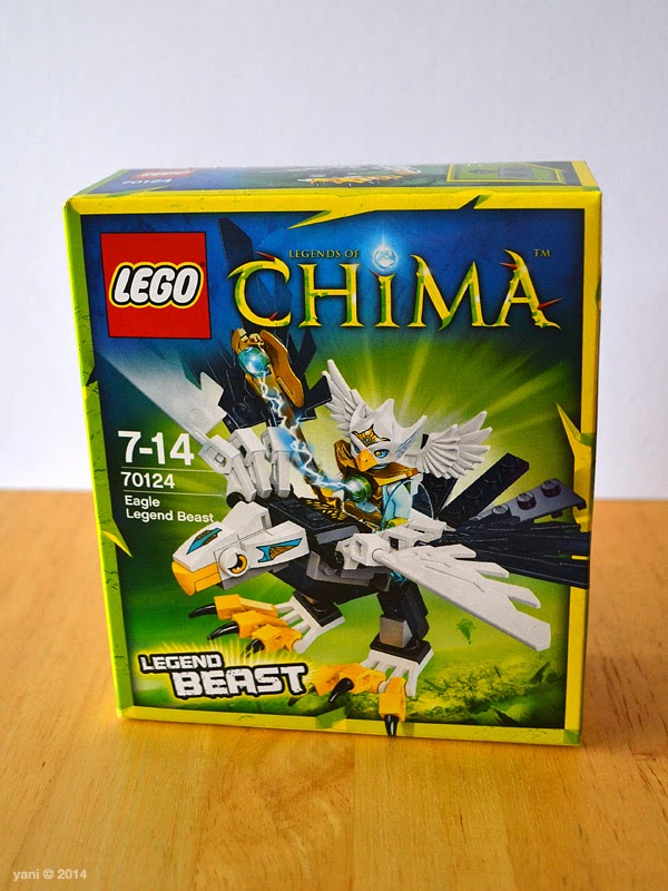 lego chima legend beast eagle - the box