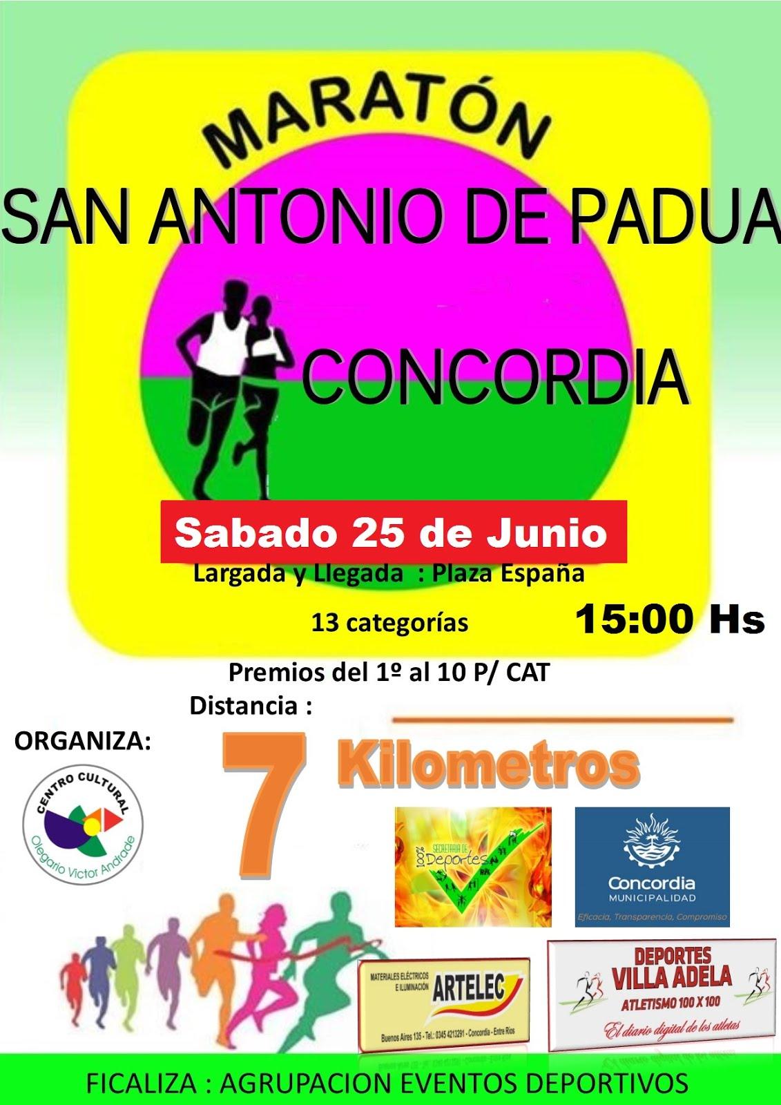 Maratón San Antonio de Padua 2016