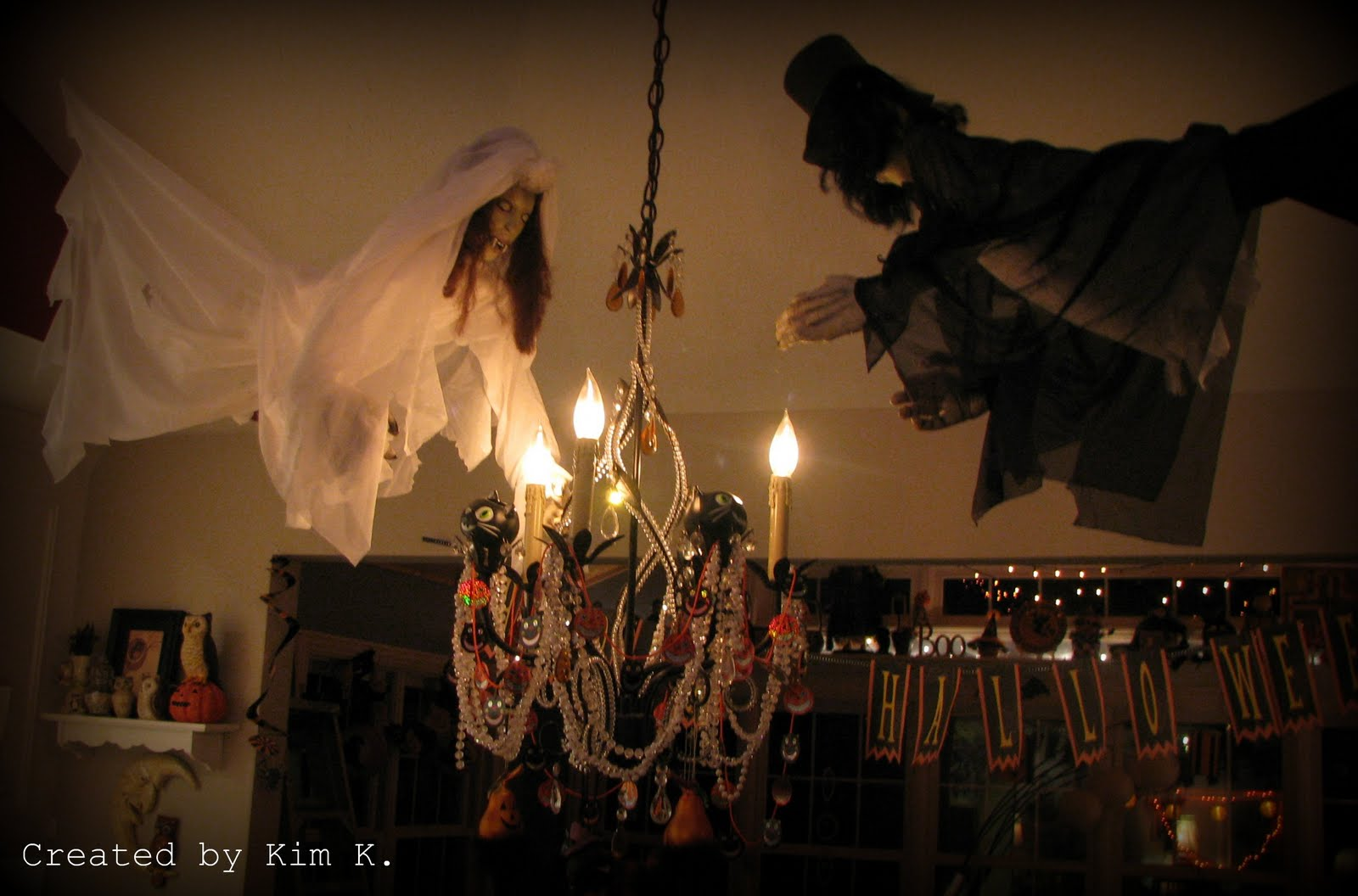 its a bird its a plane its more halloween decorations - Halloween Ceiling Decorations