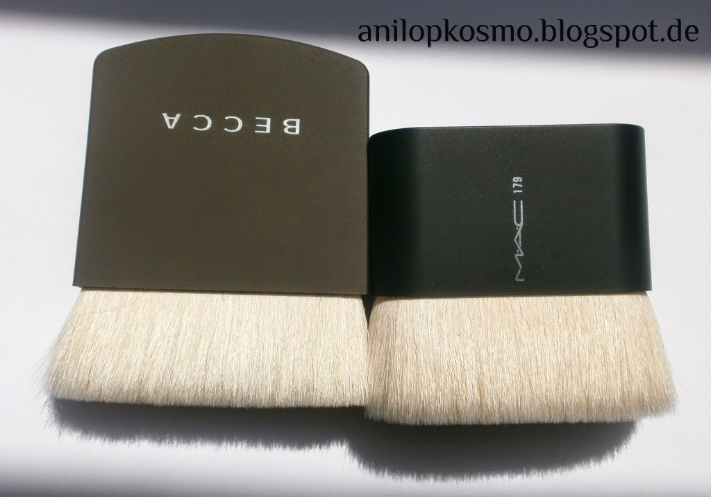 Becca The one perfecting brush, M.A.C. № 179 (limited edition), отзыв