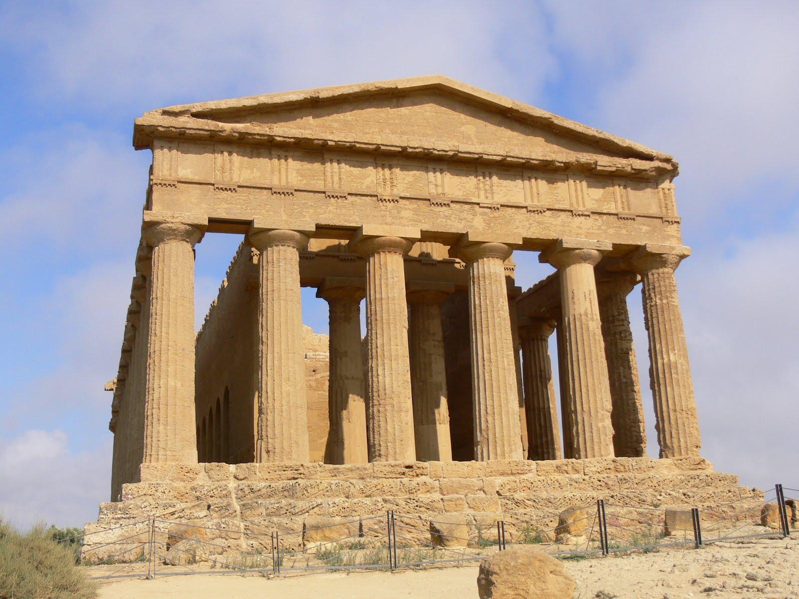 La clase de ciencias sociales el arte griego for Arquitectura griega templos