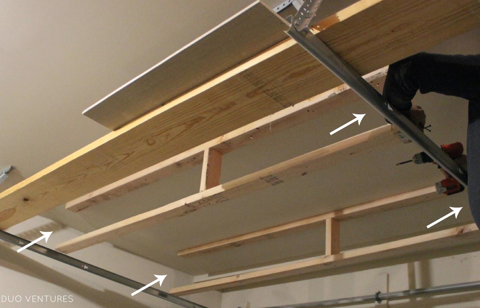 Duo Ventures The Garage Ceiling Storage