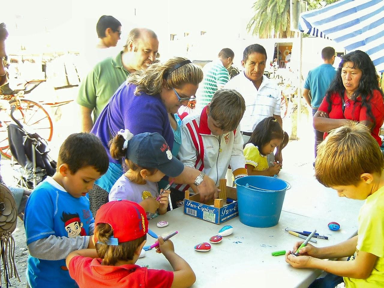 El taller para los niños en Ronda