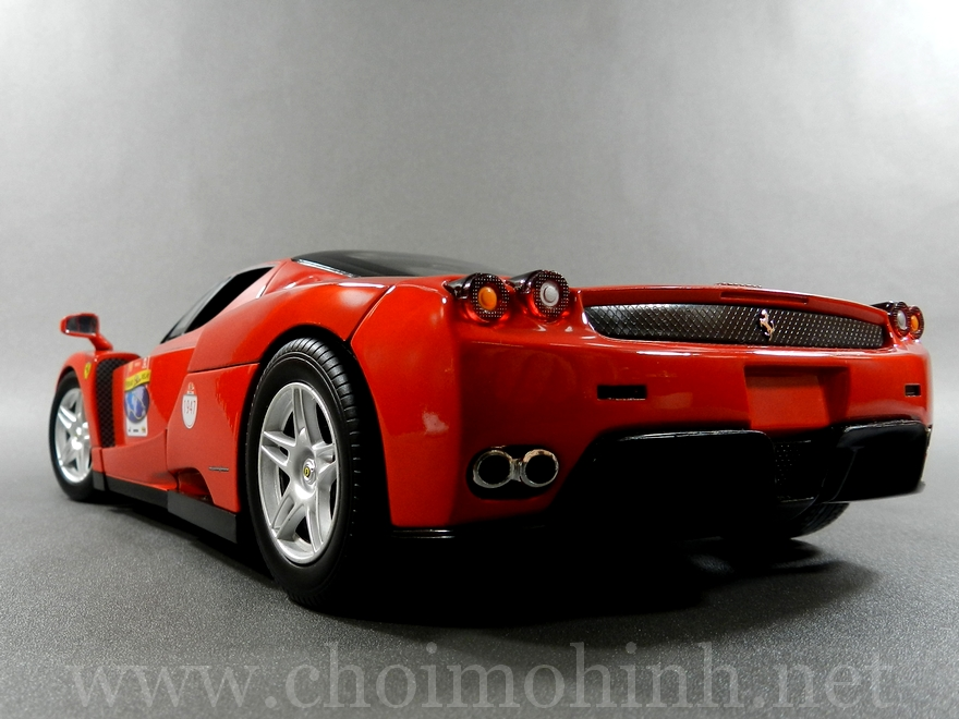 Ferrari Enzo 60TH Anniversary 1:18 Hot Wheels back