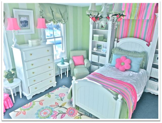 10 Easy Ways To Spruce Up Girls Bedroom Walls Room Design Ideas