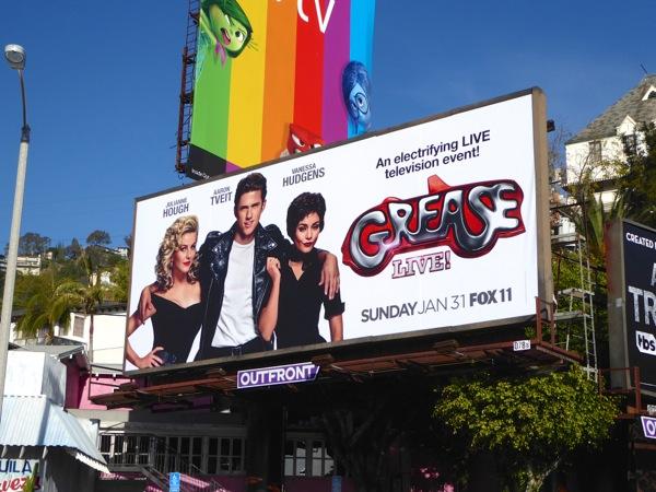 Grease Live billboard