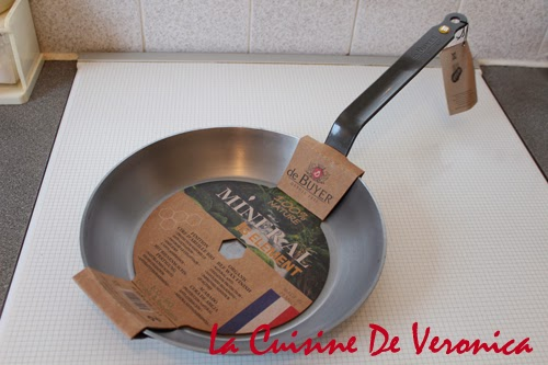 La Cuisine De Veronica,V女廚房,鐵鑊,Iron Pan,De Buyer,De Buyer Mineral B Element