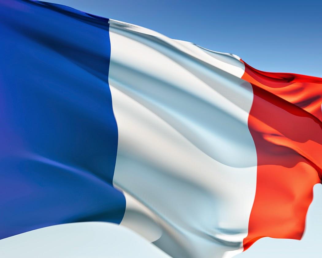French flag coloring page - French Flag Coloring Page 75