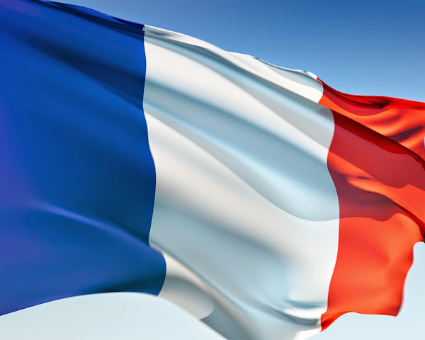 French France Flag Coloring Page