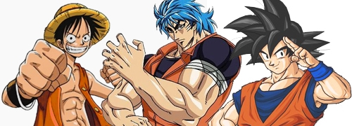 Crossover entre One Piece, Dragon Ball y Toriko