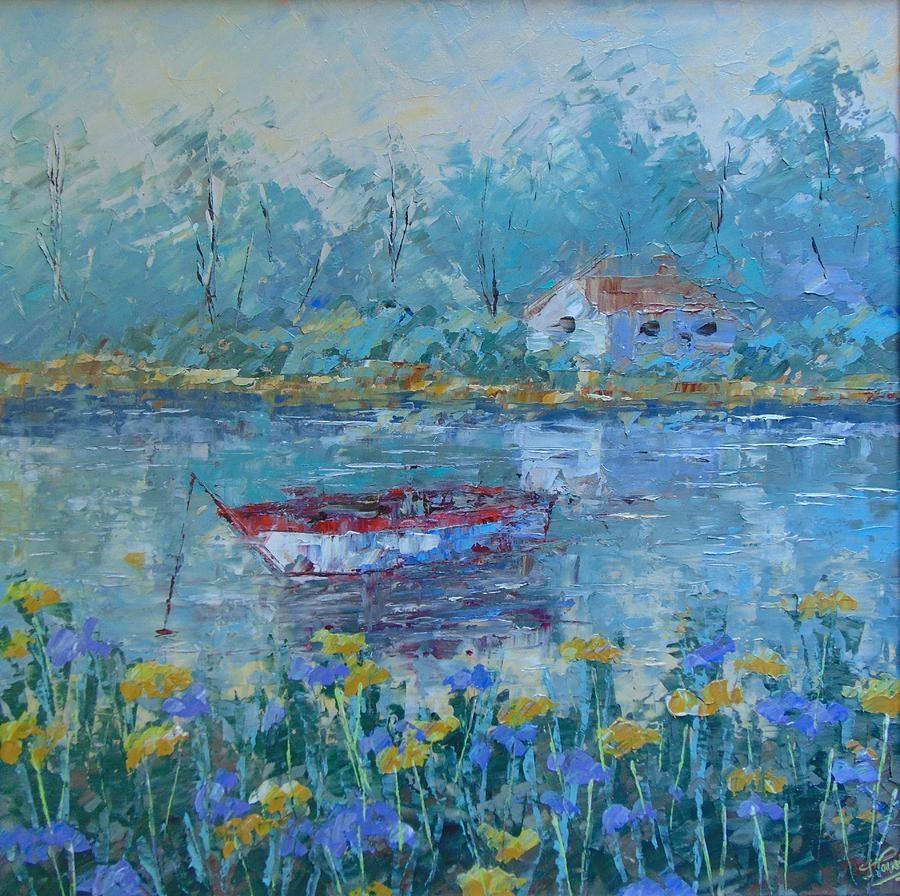 Frederic Payet Provence lake