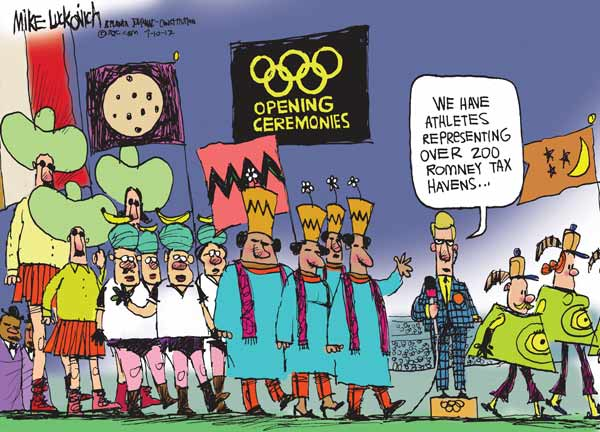 Tax Havens Olympics