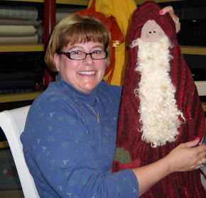 Robyn and her Santa