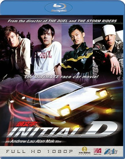 Initial D 2005 Dual Audio [Hindi-Eng] 300mb BRRip 480p
