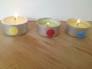 testing soy tealights