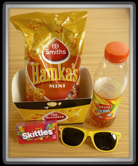 Mijn bios snacks & props hamka's lipton ice tea skittles