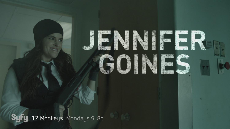 """12 Monkeys"": Emily Hampshire As Jennifer Goines Is A National Treasure"