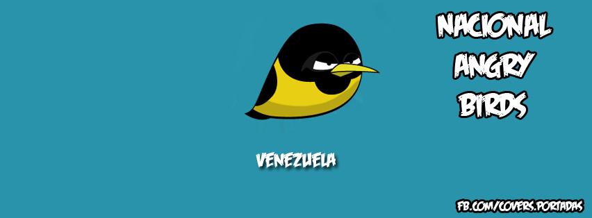 Venezuela angrybirds [portada para facebook]