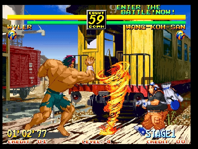 Art of Fighting 3 for NeoGeo - GameFAQs