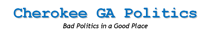 Cherokee GA Politics