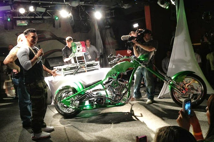 DJ Pauly D Bike Unveiled, but Who Gets to Keep It?