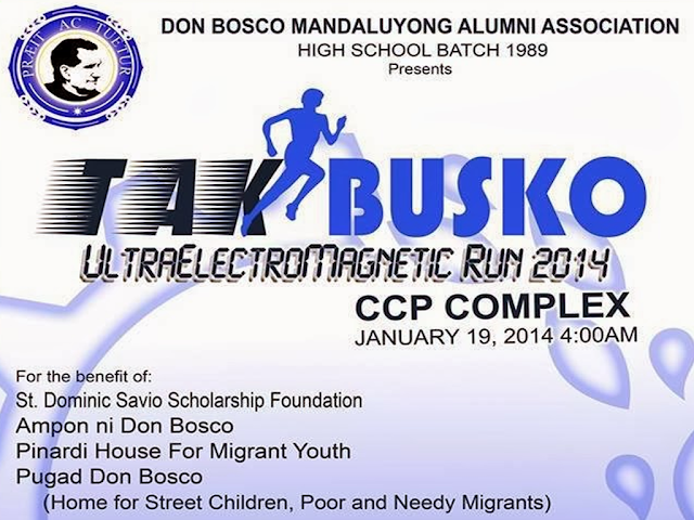 TAKBUSKO UltraElectroMagnetic Run 2014 | Jan 19 @ CCP Complex