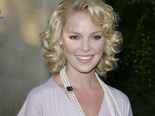 American Model and Actress Katherine Heigl