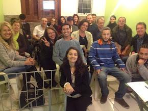 Aula inaugural da IX turma da Formação. Casa da Filosofia Clínica em Porto Alegre.