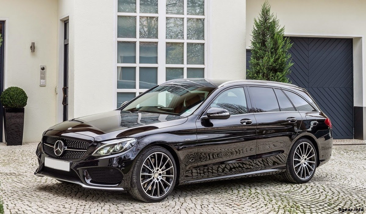 Twin turbo 2016 mercedes c450 amg 4matic estate car for 2016 mercedes benz c63 amg 4matic