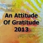 Attitude of Gratitude 2013