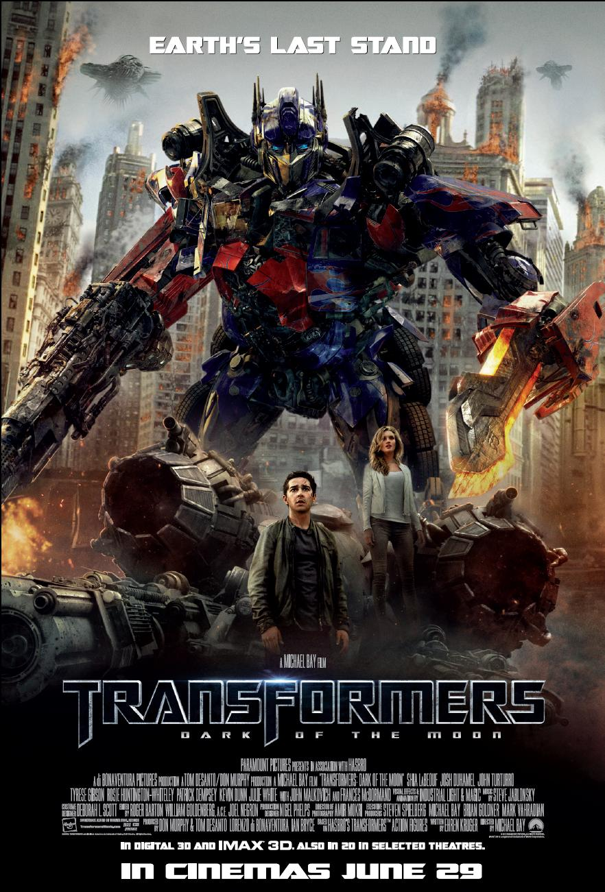 Transformers 3 [Latino][TS][1 Link]
