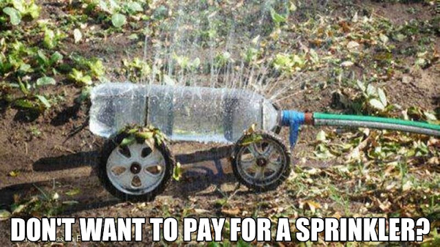 Don't want to pay for a sprinkler