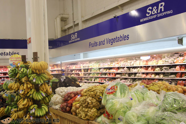 S&R Fruits and Vegetable Section