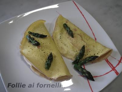 crespelle agli asparagi dukan