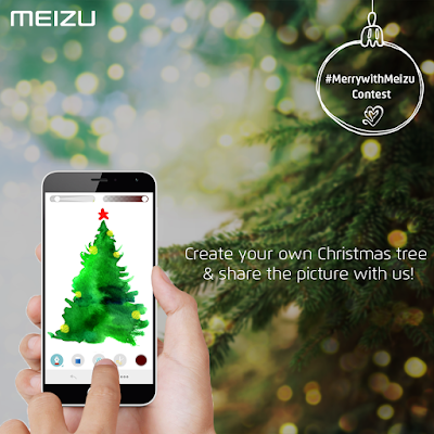 Meizu Technology launches #MerrywithMeizu online Facebook & Twitter contests for Indian fans this Christmas season