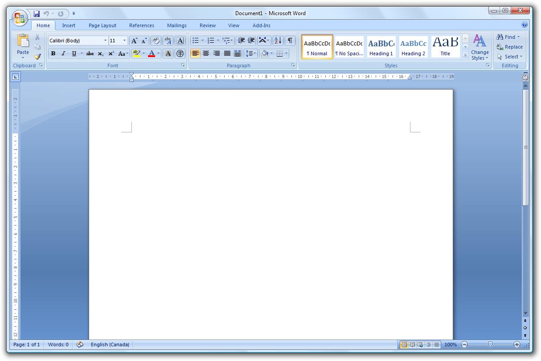 terdiri atas Title Bar, Office Button, Quick Access Toolbar, Menu Bar ...