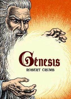 """Portada del cómic """"Génesis"""" de Robert Crumb"""