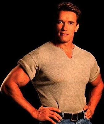 Foto de Arnold Schwarzenegger joven