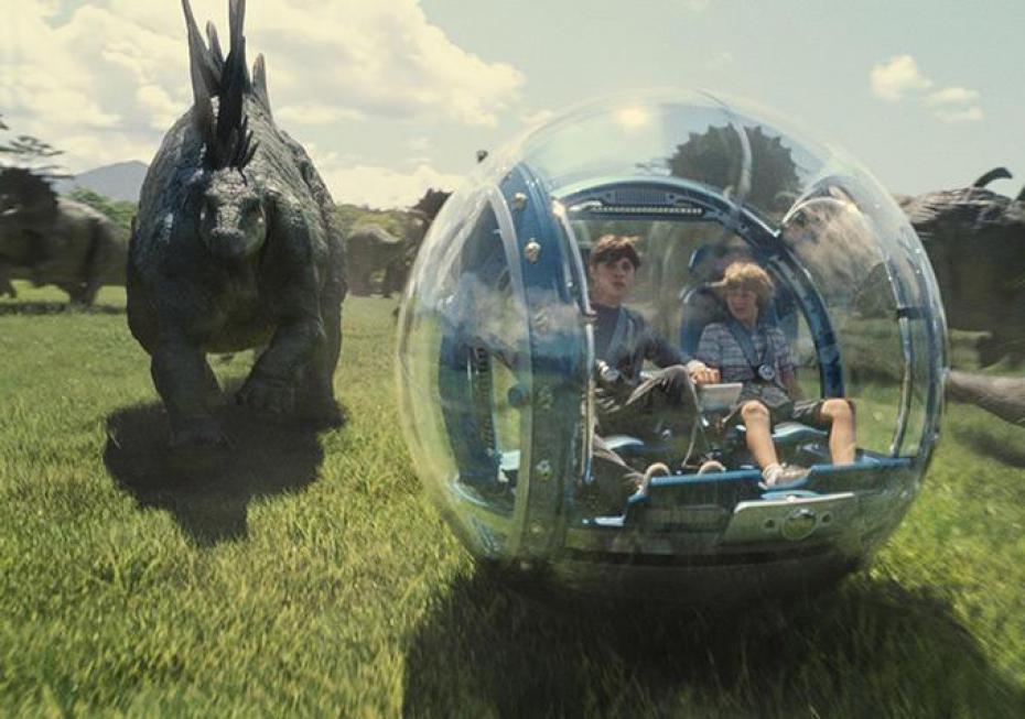 Leonardo colombi: jurassic world