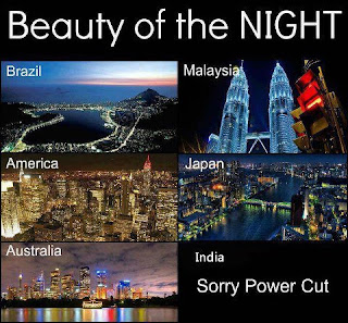 Beauty of India Power Cut