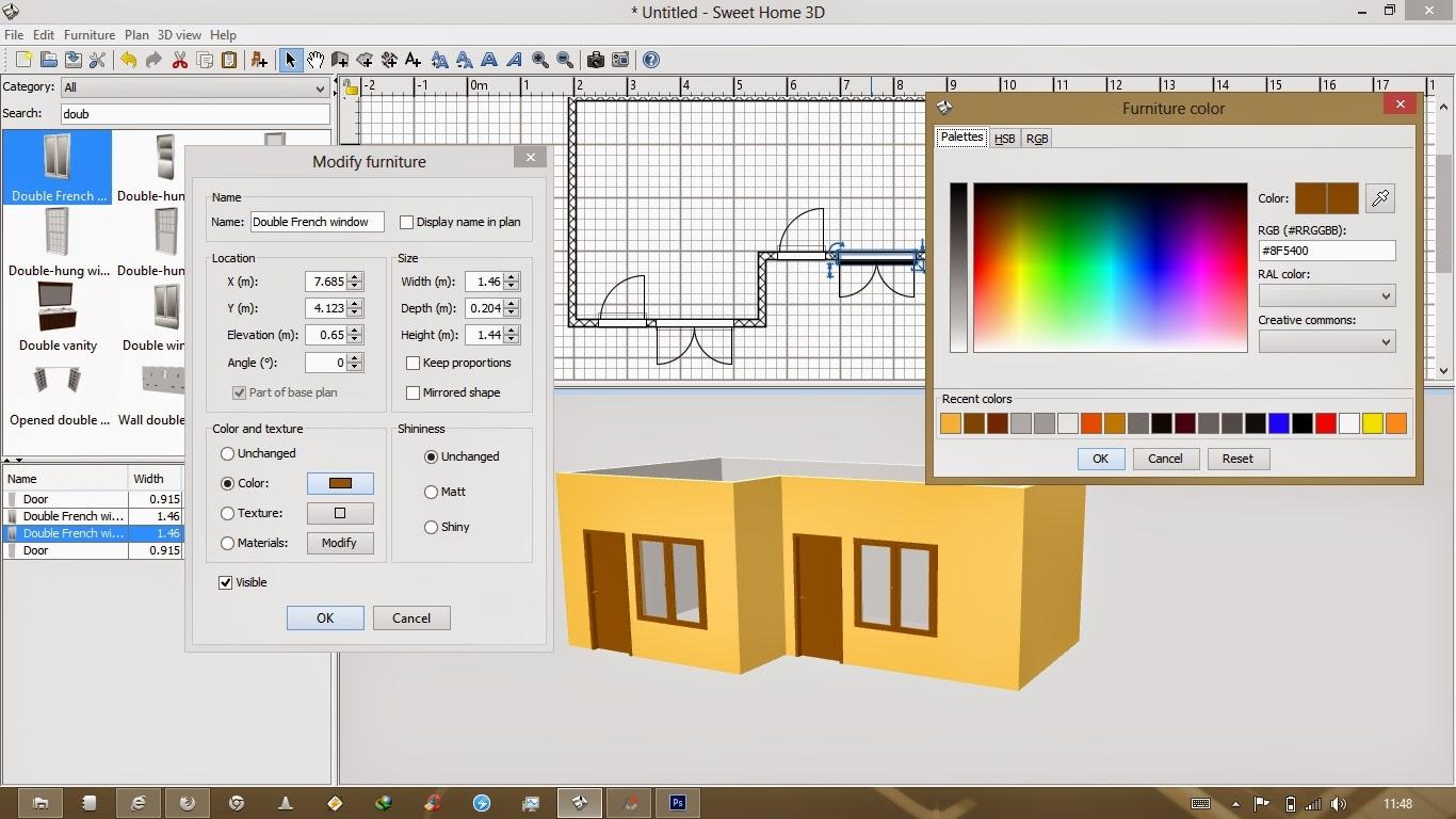 Program Membuat Desain Rumah D