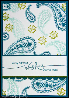 Spiced Paisley Stampin' Up! Card