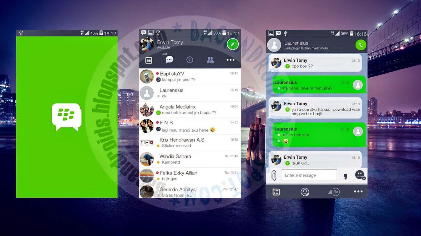 download BBM Mod Tema Line Messenger 2.8.0.21