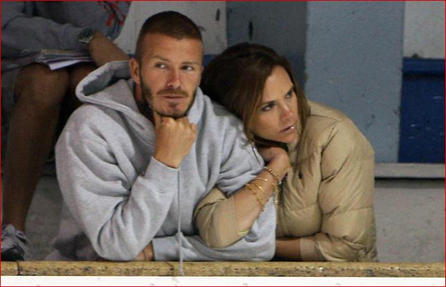 victoria beckham and david beckham. Victoria and David Beckham