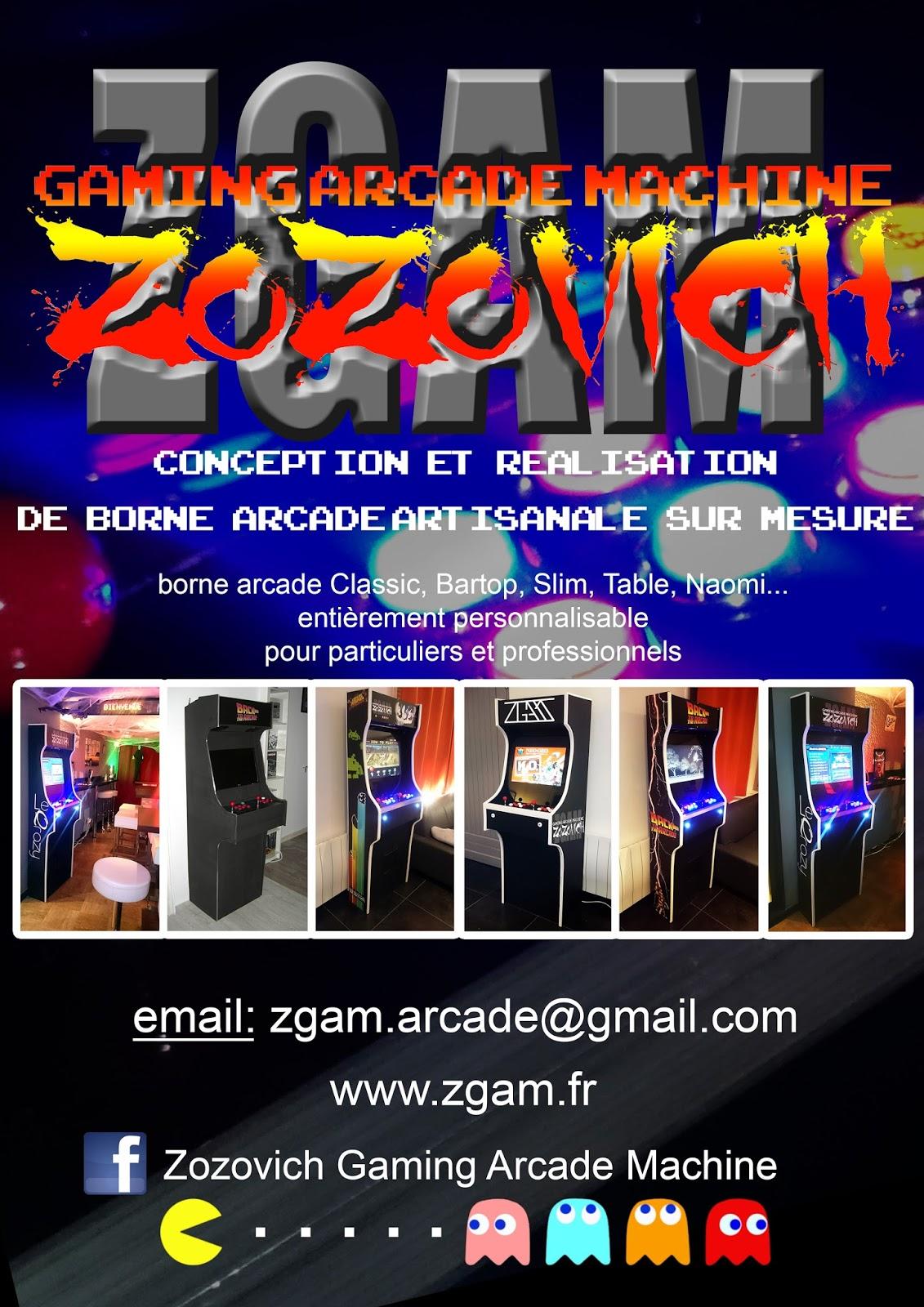 borne arcade zgam
