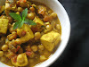 Chickpea and Paneer Tomato Curry