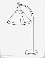 Mewarnai Gambar Lampu Belajar