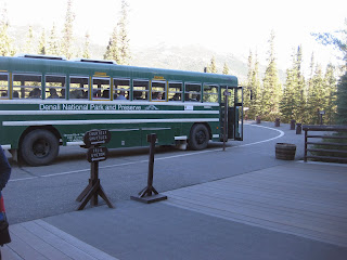Denali National Park shuttle bus