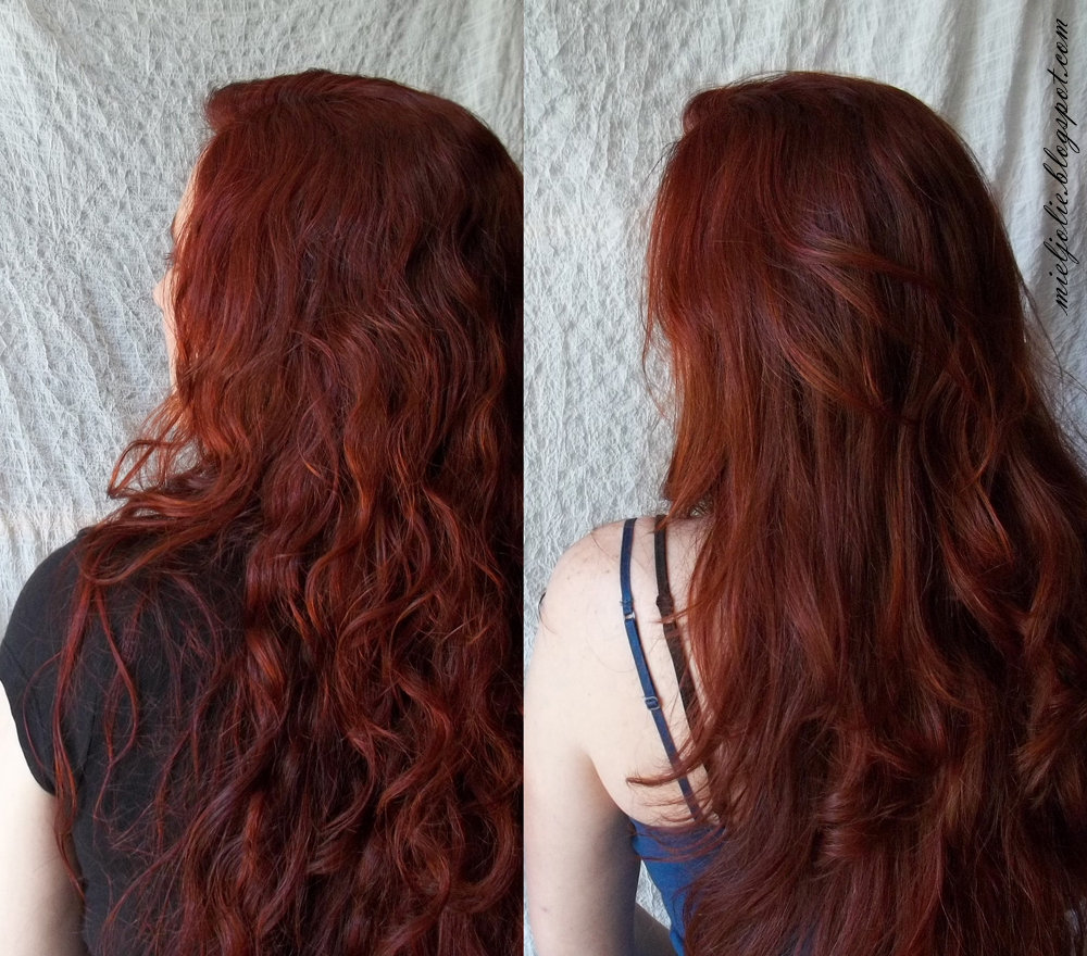 Red hair with henna